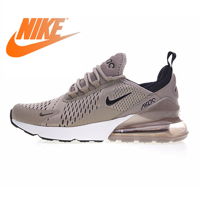 free shipping 0f3dd 78c9a Original Authentic Nike Air Max 270 Men s Running Shoes Air Sole Sports  Outdoor Sneakers Breathable Comfortable Mens Shoes