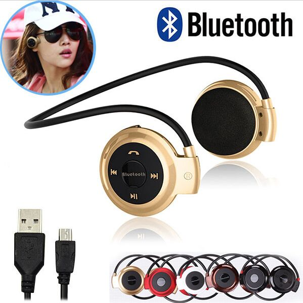 Mini503 BH-503 BH503 Neckband Mini Wireless Sport Bluetooth Headset/headphone Music Stereo Bluetooth Earphone/Earbuds Handsfree bh 23 wireless headphone