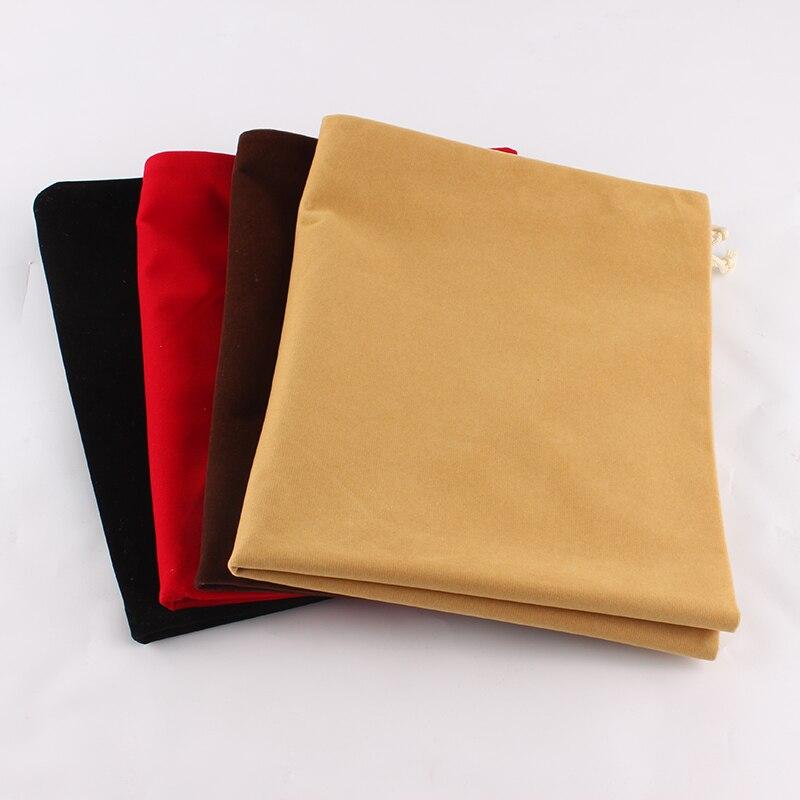 40*50cm Packaging Bag Large Cloth Food Box Custom Logo Print Drawstring Bag Wedding Christmas Gifts Bag