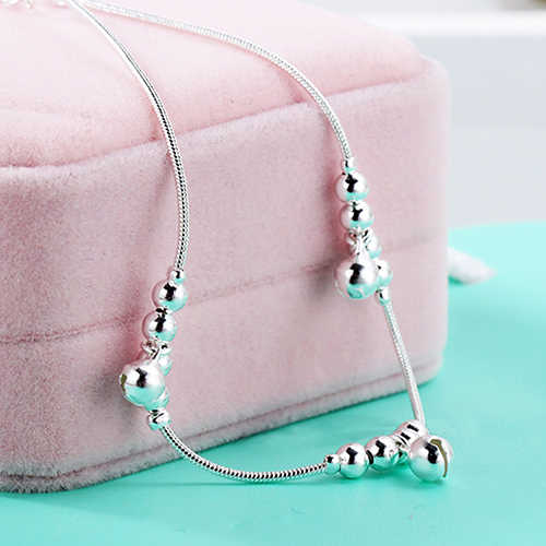 5 sztuk kobiety moda 3 sztuk dzwony 12 koraliki luksusowe łańcuch bransoletka kostki plaża łańcuszek na kostkę
