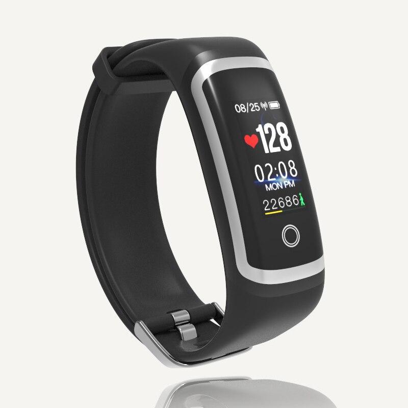 Sync téléphone langue Bluetooth montres intelligentes hommes sport montre de luxe Couple Table étanche couleur écran femme montre électronique