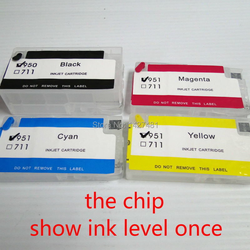 YOTAT Refillable Ink cartridge for HP950 HP951 HP 950 951 Officejet Pro 8100 8600 8610 8620 8630 8660 8615 8625 251dw 276dw