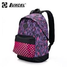 Luxcel Frauen tasche Teenager Studentin Schule Rucksack Lässig Daypacks kinder schultasche w/druck mode rucksack