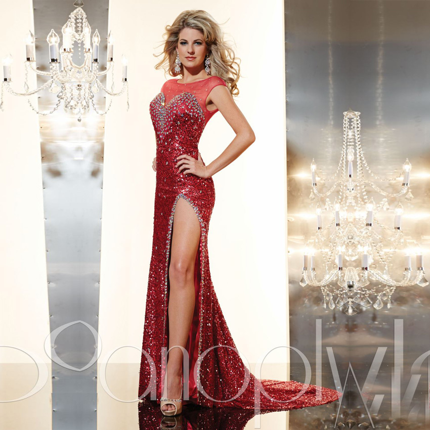 robe de soiree Formal Dresses Long Evening Gown Exquisite Black ...