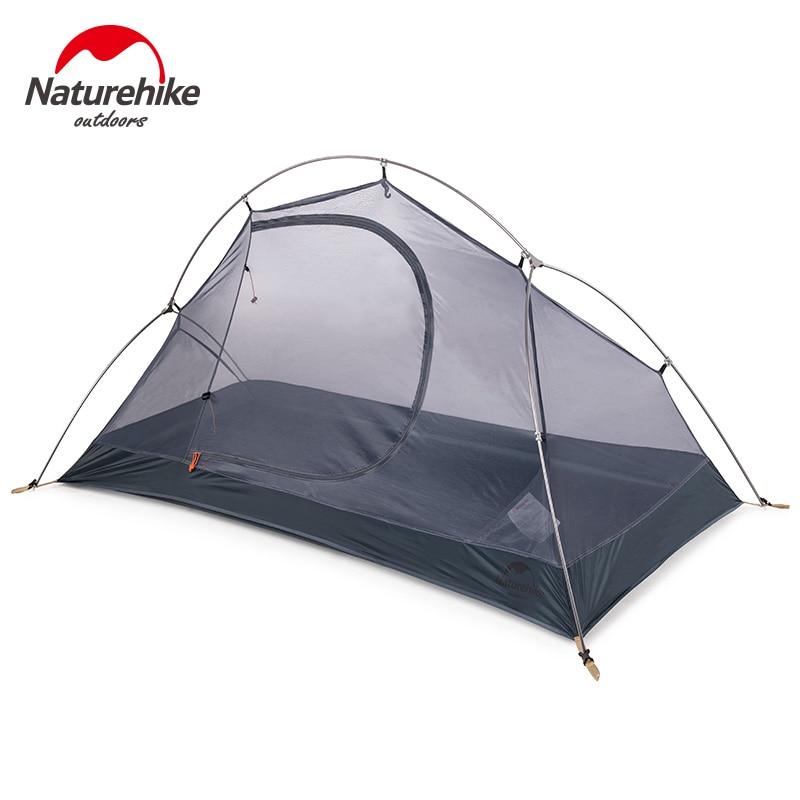 Naturehike открытый одиночный Сверхлегкий тент двухслойный Профессиональный кемпинг езда дикая палатка анти шторм - 5