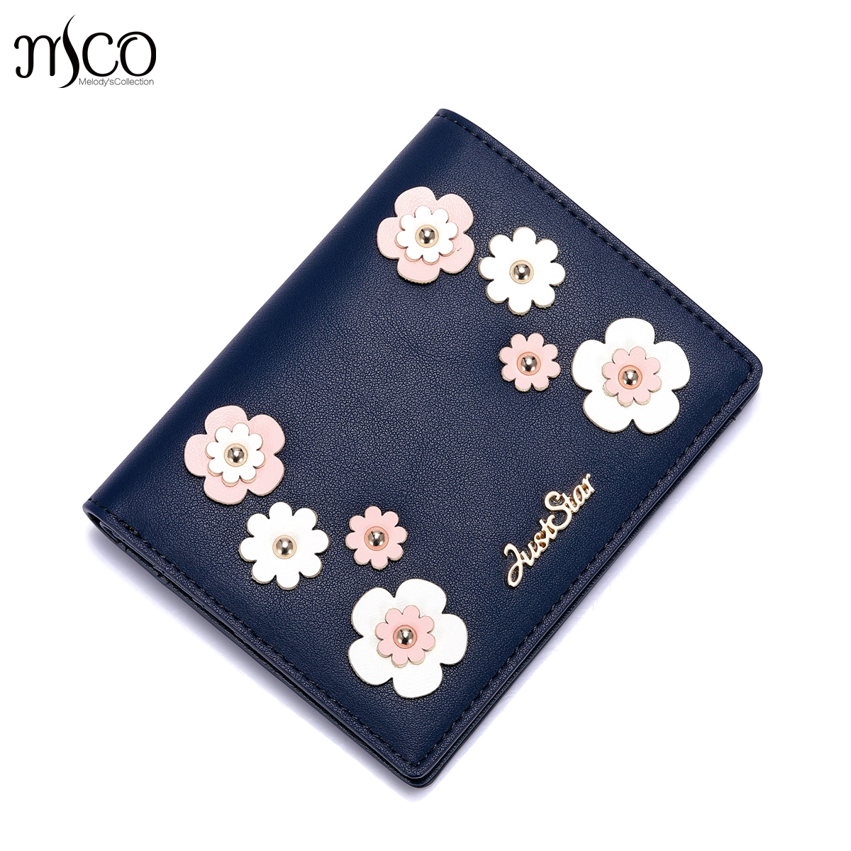 2018 Brand Designer Flower Leather Women Short Wallets Ladies Small Wallet Hasp Coin Women Purse Wallet Female Purses Money Bag cute girl hasp small wallets women coin purses female coin bag lady cotton cloth pouch kids money mini bag children change purse