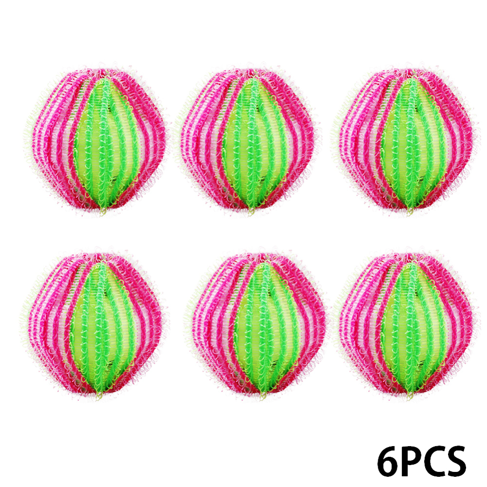 6 12Pcs 35mm Dryer Balls Reusable Clean Tools Laundry Washing Ball Laundry Hair Removal Products Accessories in Sponges Scouring Pads from Home Garden