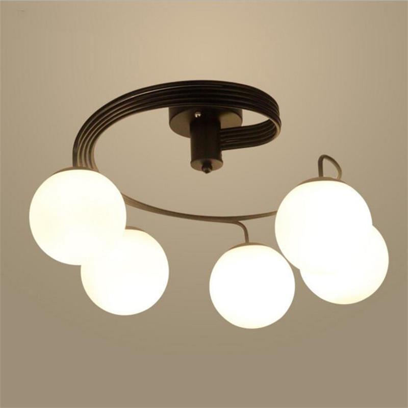Retro Vintage LED Pendant Lights Glass Lampshade Loft Pendant Lamps light E27 220V for Dinning Room Home Bar Decoration Lighting цена и фото