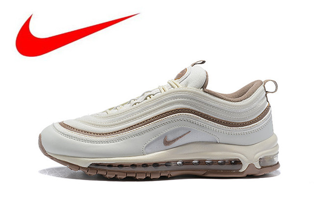 f72abfa93 Official Nike Air Max 97 OG QS 2017 RELEASE Men's Running Shoes,New Arrival  Original Breathable Outdoor Sports Shoes 917646-004