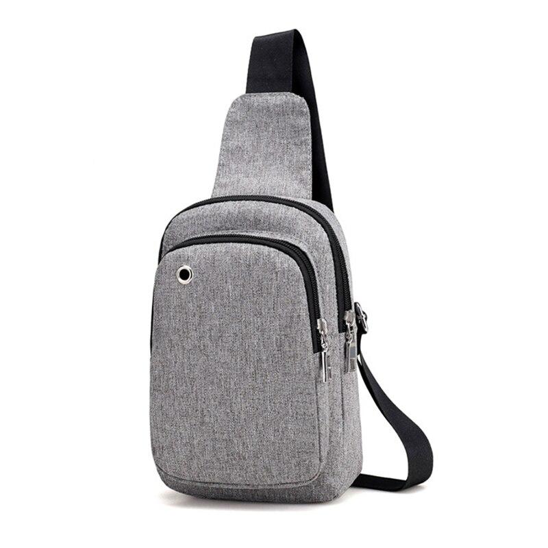 Men Anti Theft Backpack Headphone Hole Women Travel Chest Bag Single Shoulder Boys Girls Chest Bags Sac A Dos Homme Bolsa BP0245 (20)