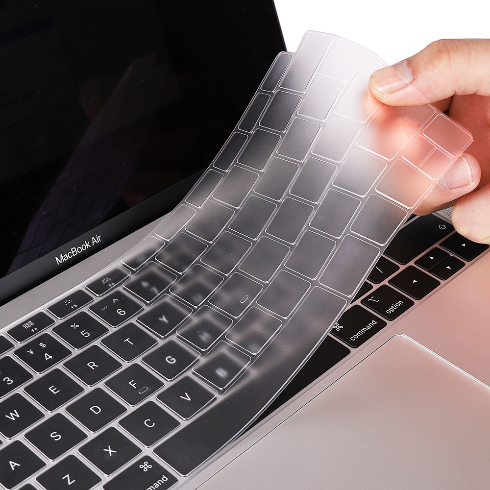 Anti-Dust Keyboard Silicone Cover Protector film for 2018 New Macbook Pro 13 15