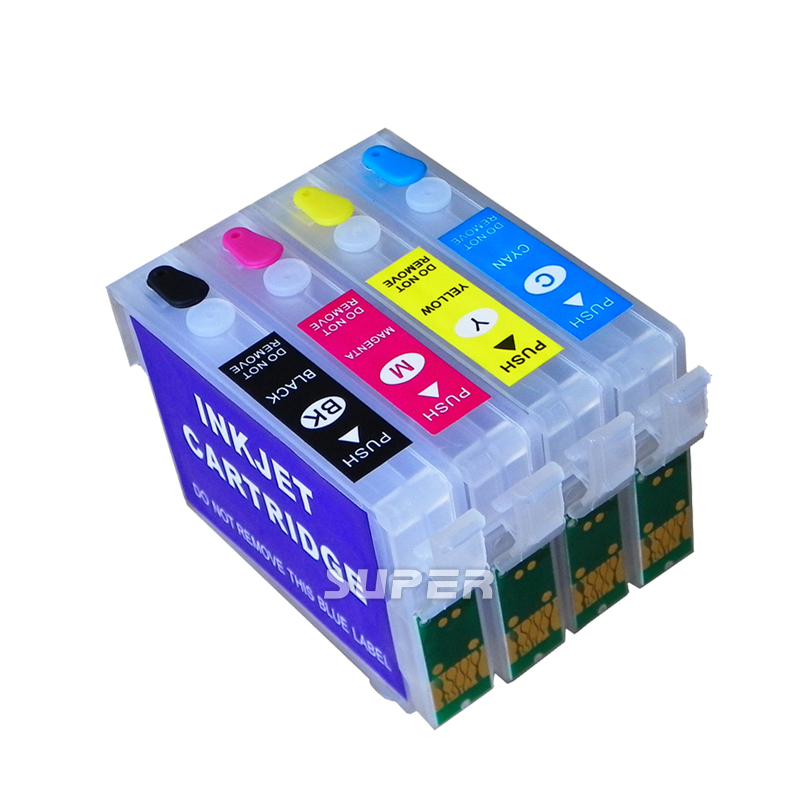 ФОТО Refillable ink cartridges for Epson printer ME401/ME303  with ARC chips free shipping