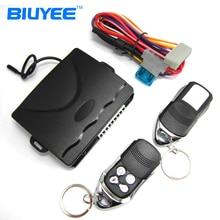BIUYEE Universal Car Keyless Entry System Siren Remote Trunk Release Remote Lock Unlock M608 8138 Car