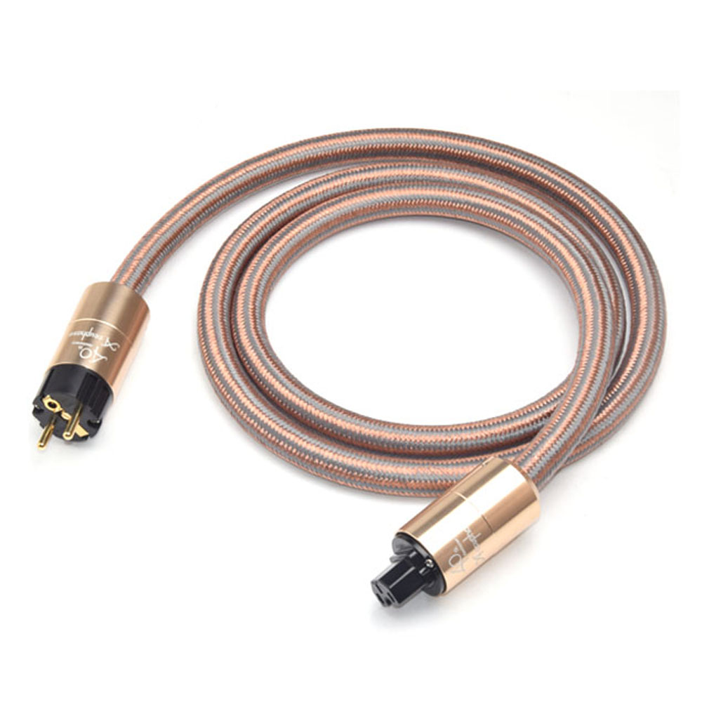 Hifi Accuphase Power Cable High Purity OFC Power Cord with European Standard Plug For Amplifier CD