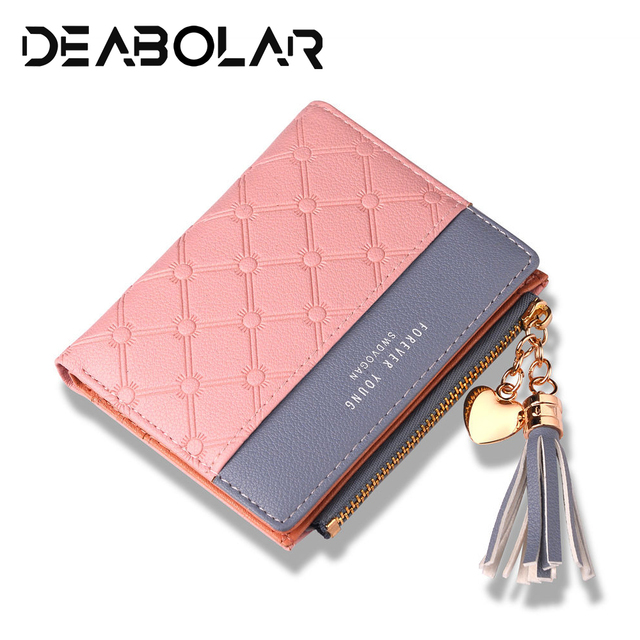 2018 New Women's Cute Fashion Purse Leather Long Zip Wallet Coin Card Holder Soft Leather Phone Card Female Clutch