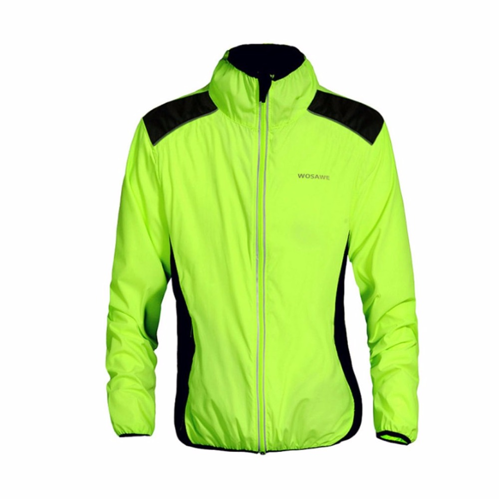 WOSAWE Outdoor Sports Long Sleeves Jacket Riding Cycling Clothing Windproof Jacket Autumn Winter Waterproof Quick Dry new