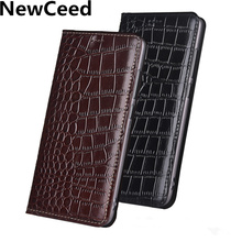 Real Leather Magnetic Flip Case Card Slot Holder For Huawei Enjoy 9 Enjoy 9 Plus Enjoy 8 Plus Huawei Enjoy 7S Flip Cases Coques enjoy