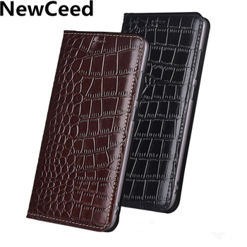 Real Leather Magnetic Flip Case Card Slot Holder For ViVo Z6/ViVo Z5/ViVo Z5X/ViVo S6/ViVo Z5/ViVo U5X Flip Card Slot Cover Capa фото