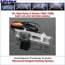 Liislee Backup Rear Reverse Camera For Opel Astra F Estate 1991~1998 / HD 860 Pixels 580 TV Lines Intelligent Parking Tracks