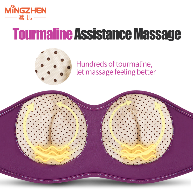 MZ Electric massager Shiatsu Kneading beauty Chest Breast sagging electric infrared hyperplasia Tourmaline massage Vibration bra electric antistress therapy rollers shiatsu kneading foot legs arms massager vibrator foot massage machine foot care device hot