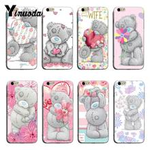 Yinuoda Tatty Teddy Me Om U Luxe TPU Rubber Telefoon Case cover Voor iPhone X XS XR XSMax 8 8 plus 7 7 plus 6 s 6 sPlus(China)