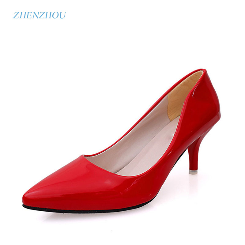 Women's shoes in the fall of 2017 han version of the pointed head of a single shoe girl 6cm fine heels new fashion trend leaders the grand scribe s records v 1 – the basic annals of pre–han china