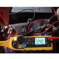 Многофункциональный Авто цепи тестер мультиметр лампы автомобилей ремонт автомобильного электрооборудования мультиметр Напряжение метр ...