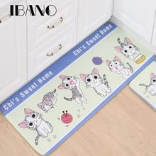 Chi's Sweet Home Cat Tapete, коврики с животным принтом, коврики для гостиной, ванной, кухни, комнаты, Противоскользящий коврик