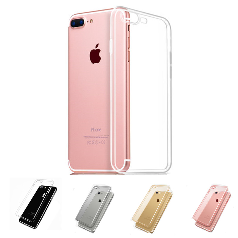Seventeck Soft TPU Clear Case For iPhone 6 6s 6Plus Silicone Cases Ultra Thin For iPhone 7 7 Plus Transparent Crystal Back Cover