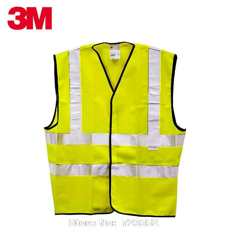 0bd919c68f1 3 M reflectante seguridad chaleco reflectante de seguridad los chalecos de  tráfico ropa talla M en Ropa de seguridad de Artículos de seguridad y  protección ...