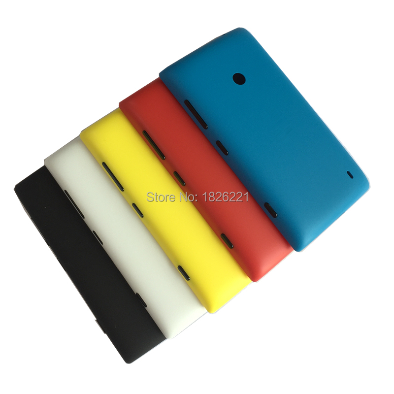 new style 150a3 288de US $3.19 20% OFF|For Nokia lumia 520 Back Cover Genuine Rear Housing  Battery Cover Case Replacement with side button -in Mobile Phone Housings  from ...