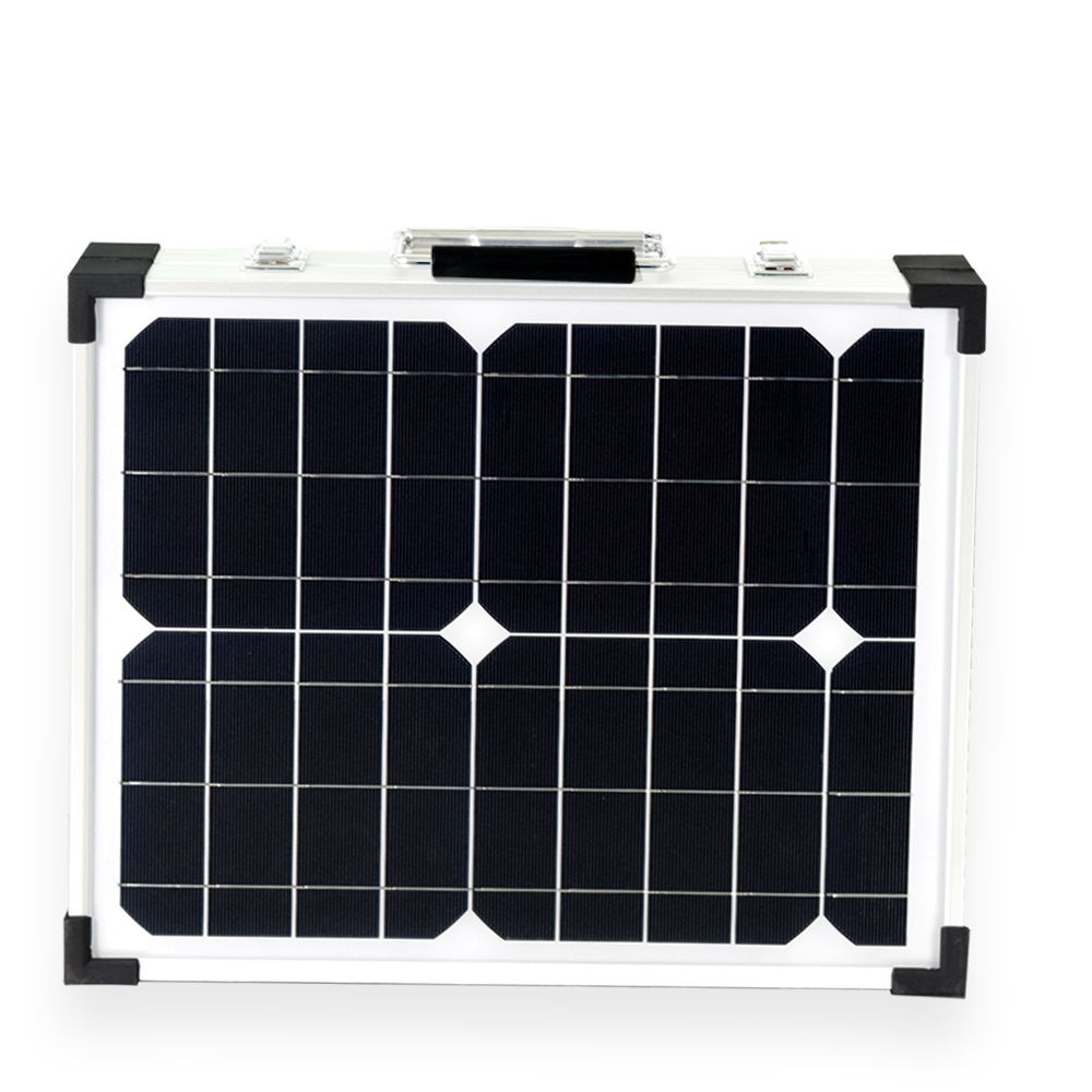 BOGUANG 1x 40W Glass frame mono PV Solar Module cell kit system panel high efficiency 12V battery Camping Vacation outdoor use high efficiency solar cell 100pcs grade a solar cell diy 100w solar panel solar generators