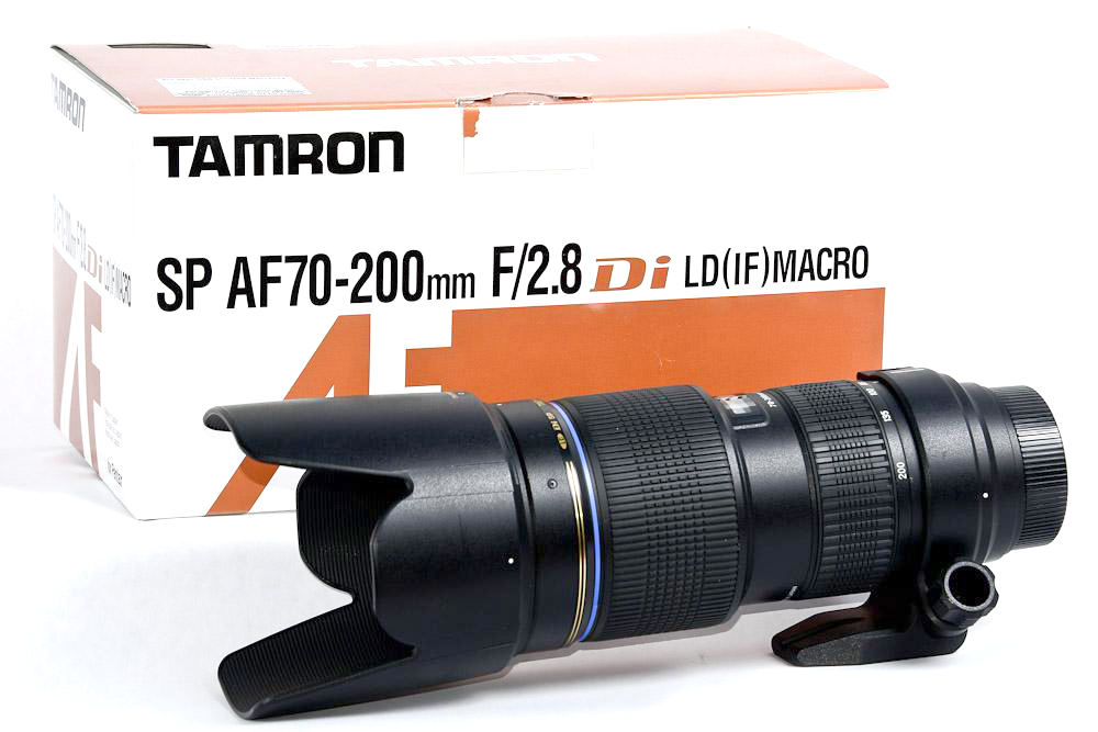 Tamron SP AF 70-200mm F/2.8 Di LD IF Macro Lens For Canon free shipping new and original for niko lens af s nikkor 70 200mm f 2 8g ed vr 70 200 protector ring unit 1c999 172