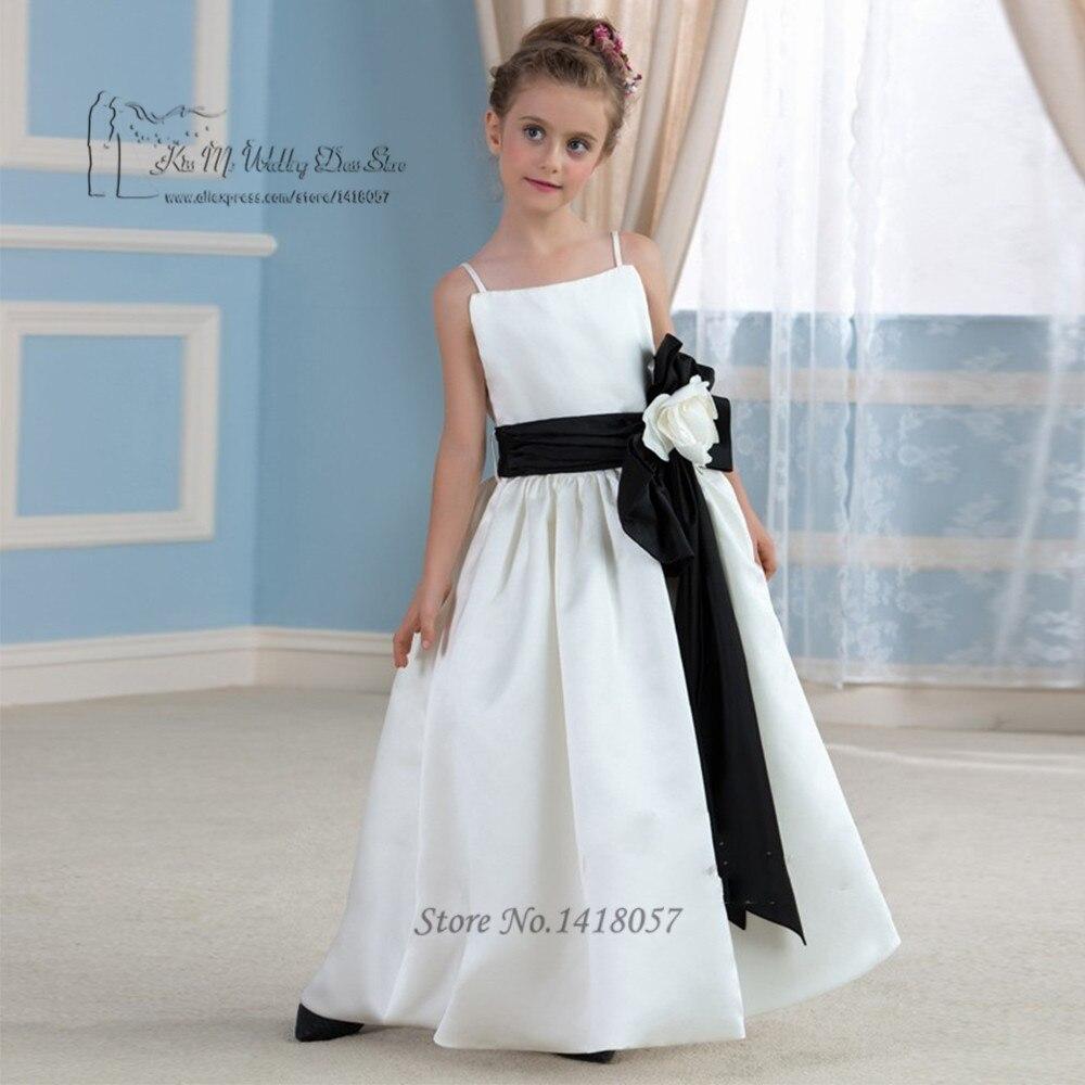 Cheap White Black First Communion Dresses for Girls Kids Beauty ...