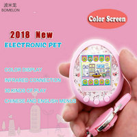 2018 New Color Screen Electronic Pet Toys Virtual Little Live Pets Infrared Connection Sanal Bebek Interactive