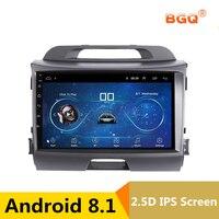 9 android автомобильный DVD мультимедийный плеер gps для KIA Sportage R 2011 2012 2013 2015 аудио автомобильный радиоприемник стерео Навигатор bluetooth, Wi Fi