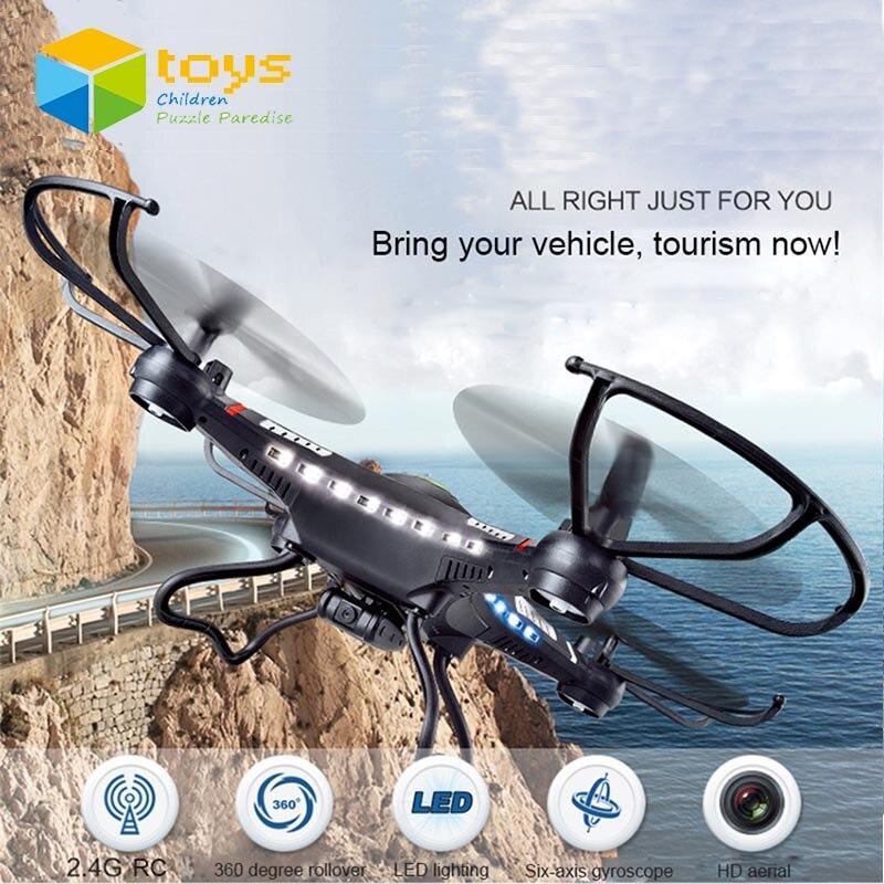 JJRC H8C RC Hélicoptères À Distance Radio Contrôle Quadrocopters avec Caméra Jouet Drones avec Caméra HD Quadricoptère UAV 6-Axe x5C X5