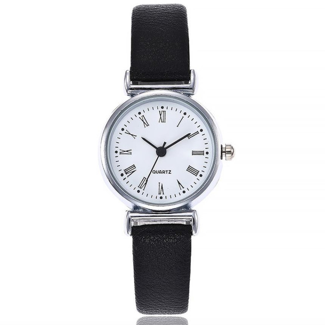 Women's Quartz Leather Band Wrist Watch Fashion Ladies Dress Wristwatch Luxury B