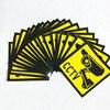 20pcs Sticker Warning Decal Signs Home CCTV Surveillance Security Camera Warn Sticker