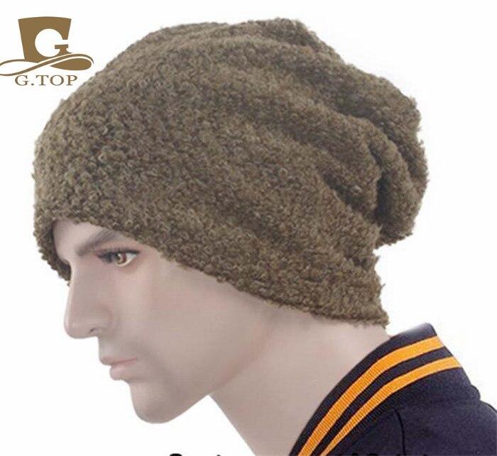 NEW  Winter Baggy Slouchy Oversize Beanie Hat Loose Knit Skull Ski Cap SH-301 hot winter beanie knit crochet ski hat plicate baggy oversized slouch unisex cap