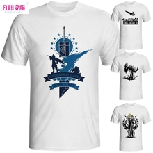 Final Fantasy T Shirt Men Casual Anime Printed T-Shirt Classic Games Cool Fashion Brand Mens Tshirt Unisex Tee Modal