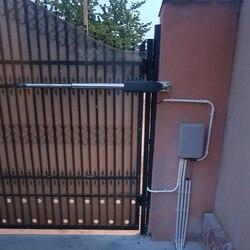 Автоматические распашные ворота, раздельные с обеих сторон, для домашних хозяйственных ворот, с приводом