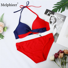 цены 2019 Female Swimsuit Plus Size Swimwear XXXL Bikini Set Push Up Bathing Suit Swimmimg Suit For Women Summer Swim Beach wear suit