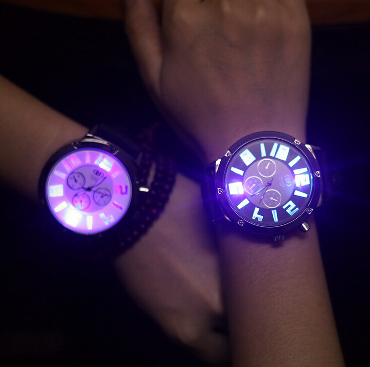 YANGTE 2017 Luminous Watches Men Famous Brand Top Luxury Wristwatch Male Clock Quartz Wrist Watch Night Light Quartz watch AB988