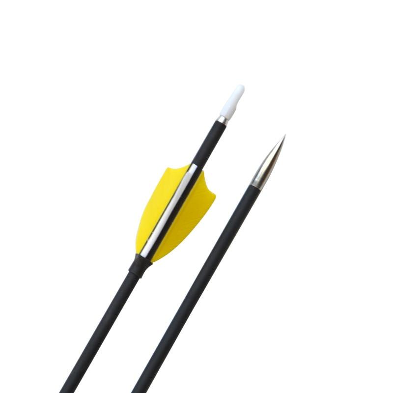 """12 шт. 3"""" карбоновые стрелы для стрельбы из лука позвоночника 1000 2"""" турецкие перья углеродная стрела с колчан для стрельбы на открытом воздухе тренировочные аксессуары"""