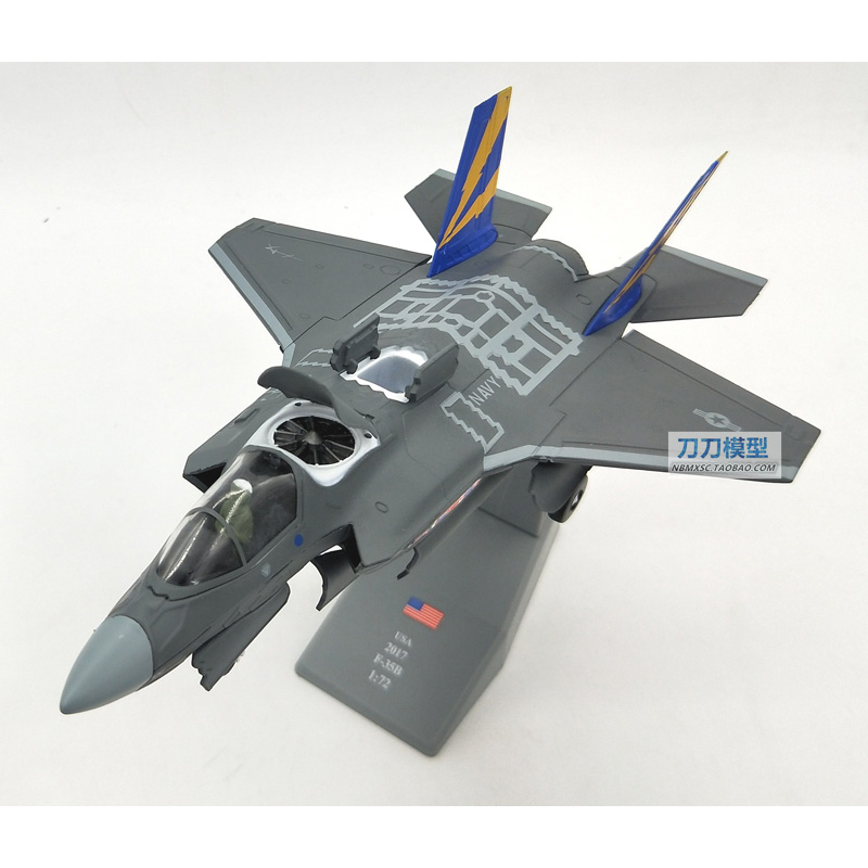 Amer Lockheed Martin F35 Lightning II Fighter 1 72 Scale Finished Model Toy For Collection Gift