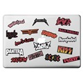 Heavy Metal Rock Punk Travel Theme Laptop Sticker for Macbook Decal Pro Air Retina 11 13 15 inch Mac Cover Skin HP Notebook