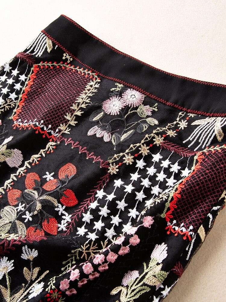 Famosa Fiesta Faldas Pista La 2019 Ropa Las Lujo Ah03115 Europeo De Estilo Diseño Marca Moda Mujeres HvwpUw4q1