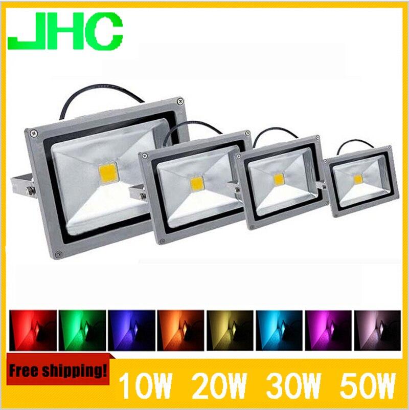 Waterproof LED Flood Light 10w 20w 30w 50w 70w 100w Warm White / Cool White /RGB Remote Control Outdoor Lighting,Led Floodlight