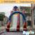 Inflatable biggors venda direta da fábrica corrediça inflável com arco decoração